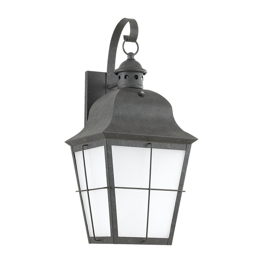 Sea Gull Lighting Chatham 21-in H Oxidized Bronze Outdoor Wall Light ENERGY STAR