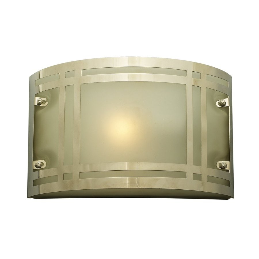 PLC Lighting Oslo 6.5-in H Polished Chrome Outdoor Wall Light