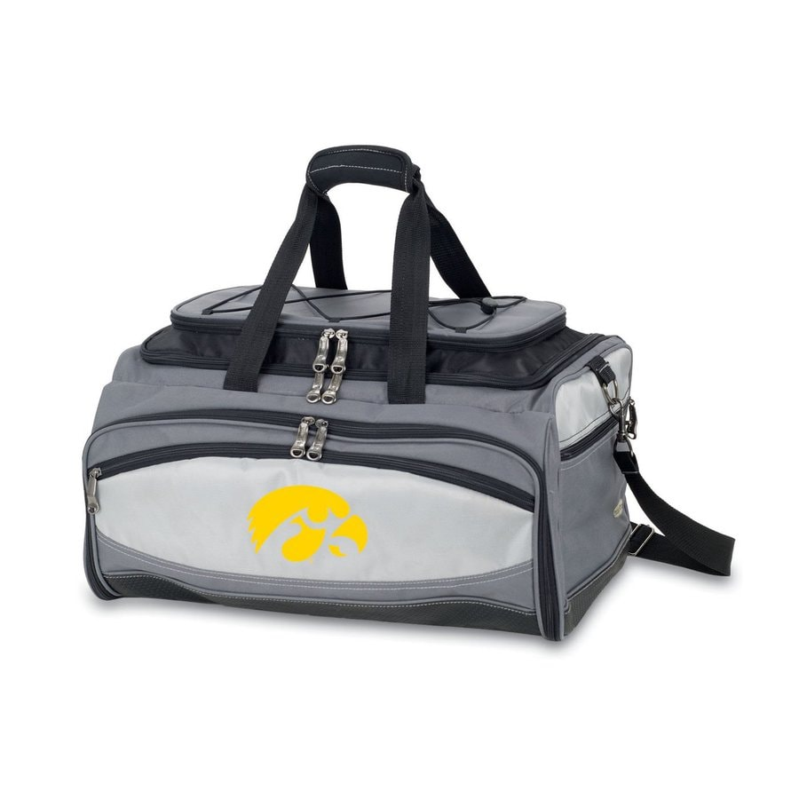Picnic Time Buccaneer 180 Sq.-in University Of Iowa Hawkeyes Portable Charcoal Grill