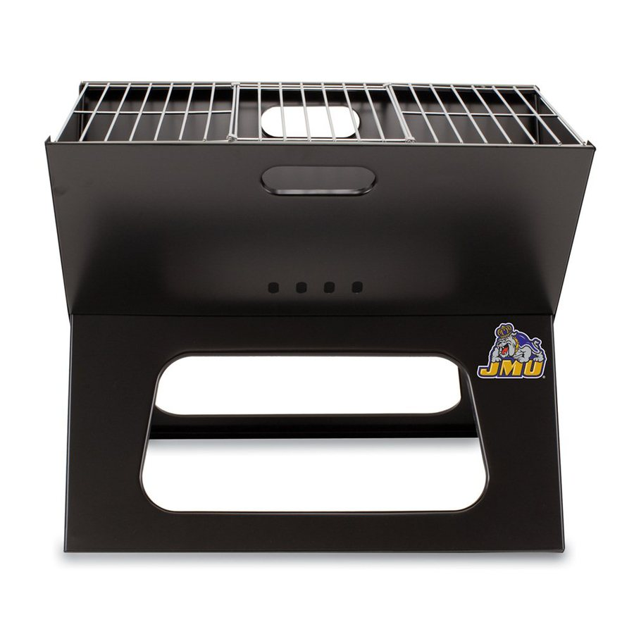 Picnic Time X-Grill 203.5-sq in James Madison University Dukes Portable Charcoal Grill