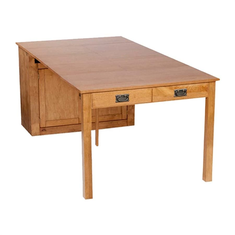 Stakmore Oak Rectangular Extendable Dining Table