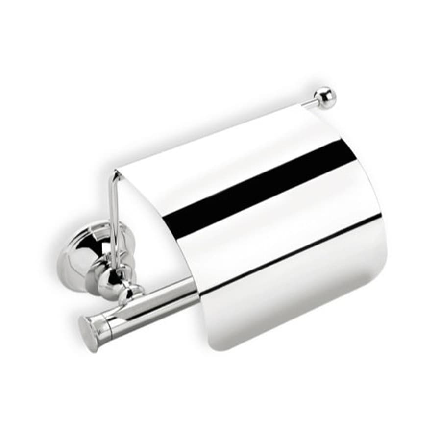 Nameeks Smart Chrome Surface Mount Toilet Paper Holder with Cover