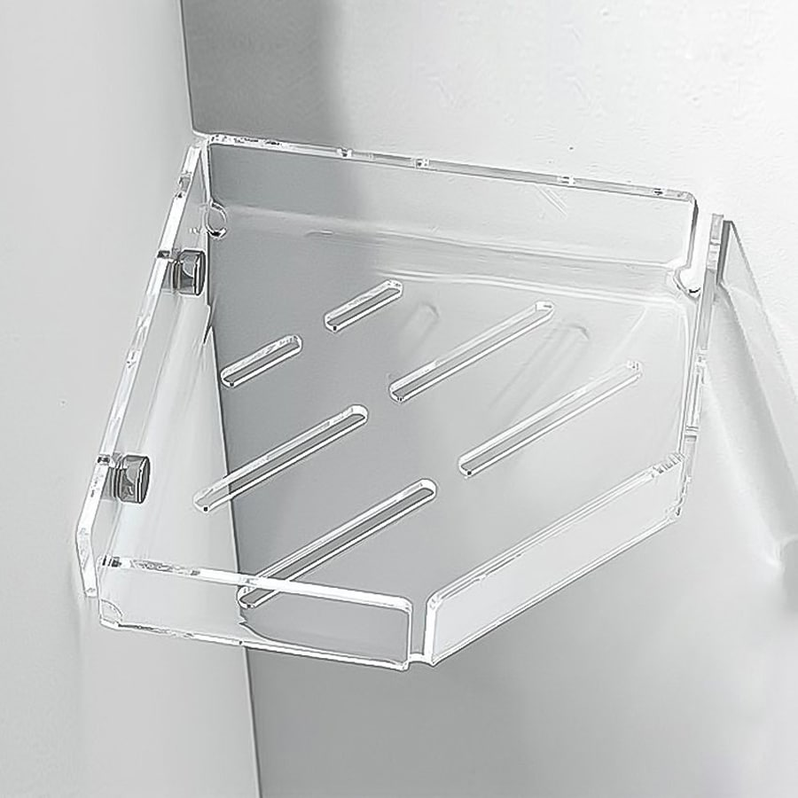 Nameeks 1.4-in H Screw Mount Plastic Hanging Shower Caddy
