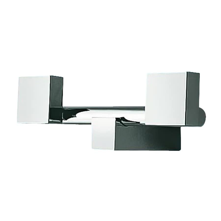 Nameeks Eden 2-Hook Chrome Towel Hook