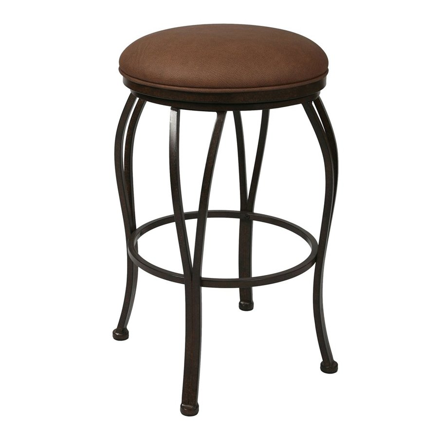 Impacterra Lexington Moccasin 30-in Bar Stool