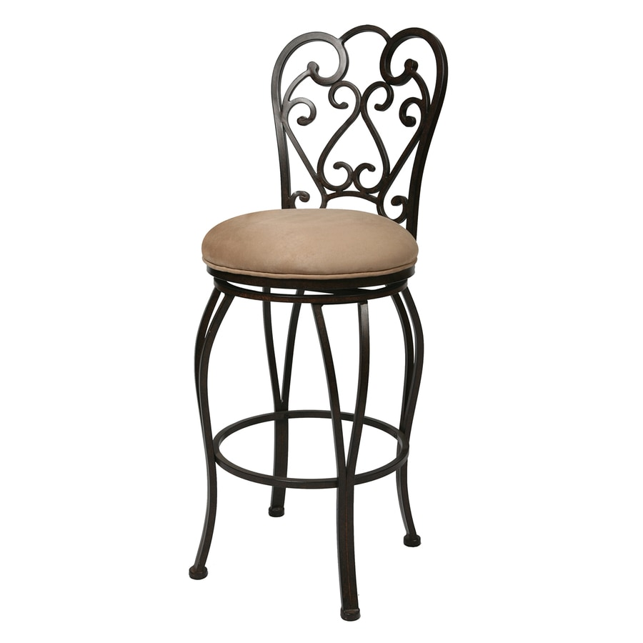 Pastel Furniture Magnolia Moccasin 30-in Bar Stool