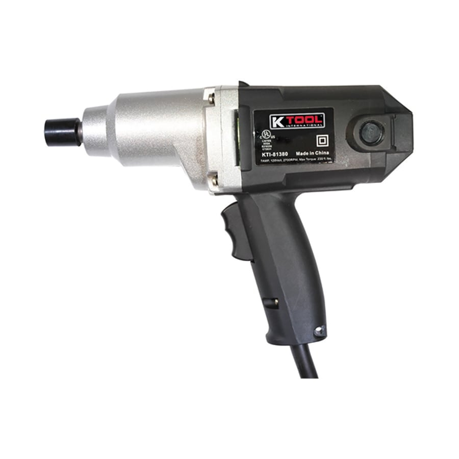 K Tool International 7-Amp 0.5-in Drive Variable Speed Corded Impact Wrench