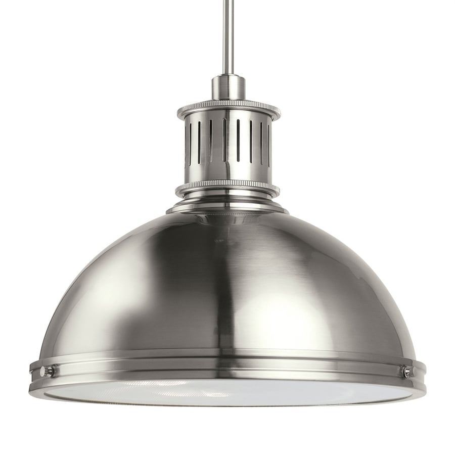 Shop Sea Gull Lighting Pratt Street Brushed Nickel