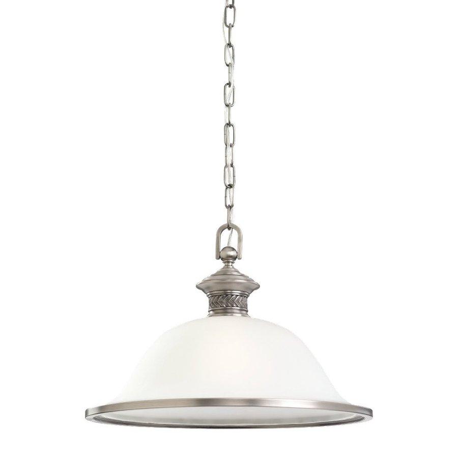 Ceiling Lights Not Hardwired : Sea gull lighting laurel leaf in antique brushed