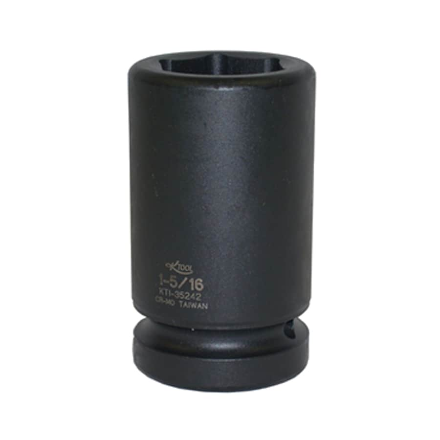 K Tool International 1-in Drive 1-5/16-in Deep 6-Point Standard (SAE) Impact Socket