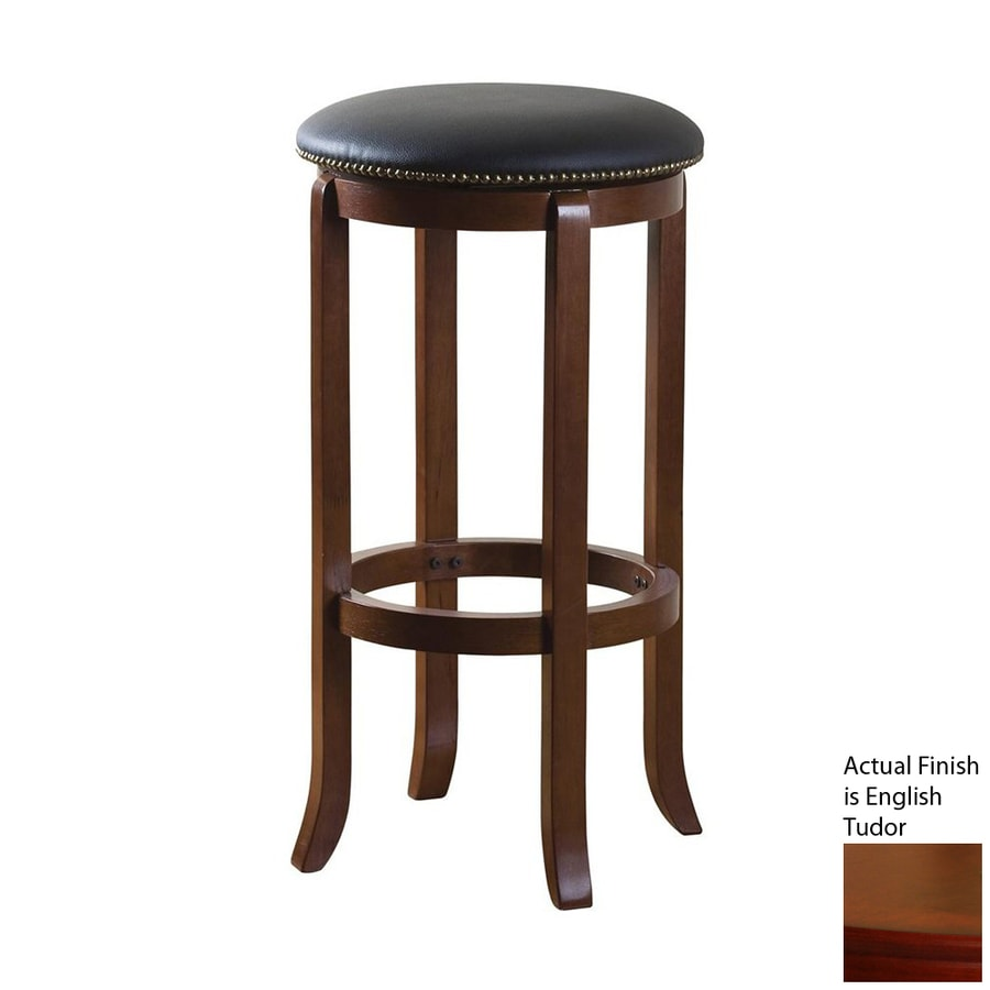American Heritage Billiards Princess English Tudor 30-in Bar Stool