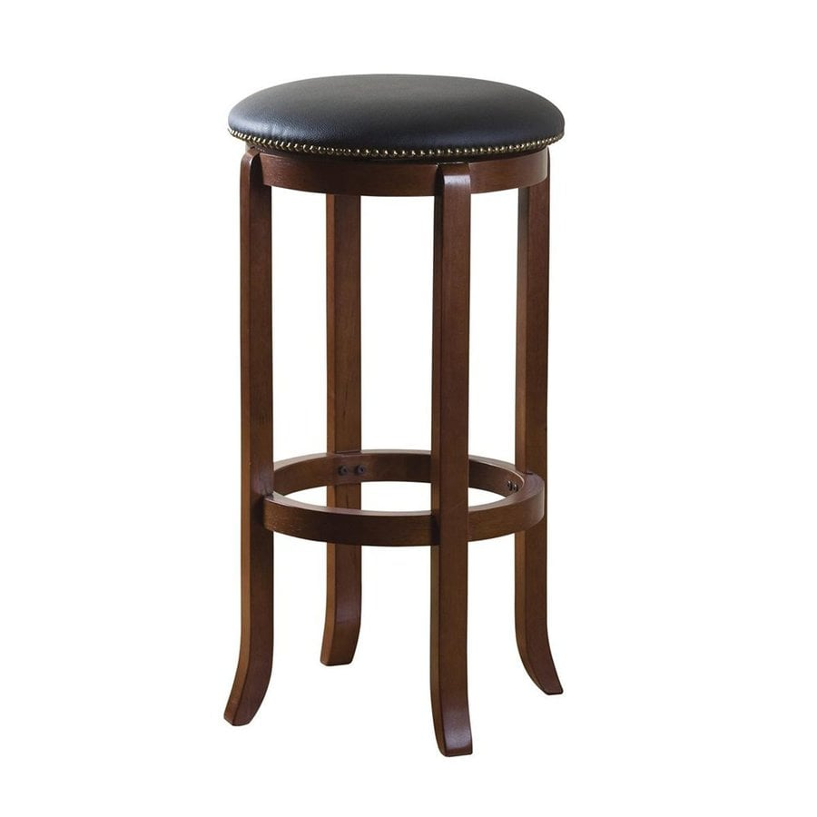 American Heritage Billiards Princess Walnut Bar Stool