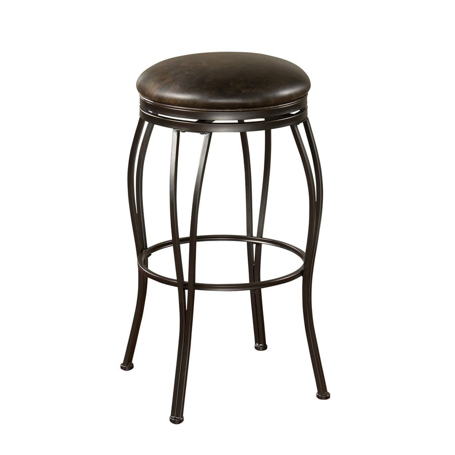 American Heritage Billiards Rimini Coco 24-in Counter Stool