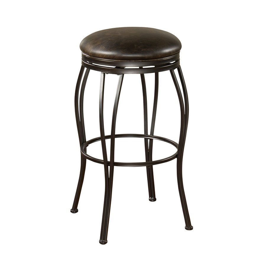 American Heritage Billiards Rimini Coco 30-in Bar Stool
