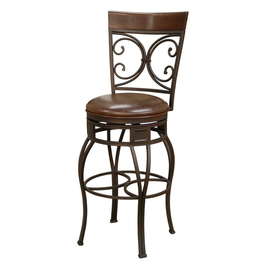 Shop American Heritage Billiards Treviso Pepper Bar Stool