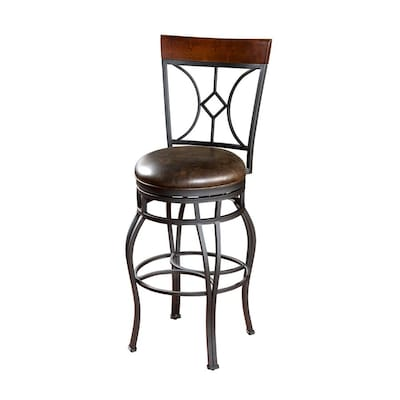 Groovy American Heritage Billiards Skien Graphite 34 In Bar Stool Theyellowbook Wood Chair Design Ideas Theyellowbookinfo