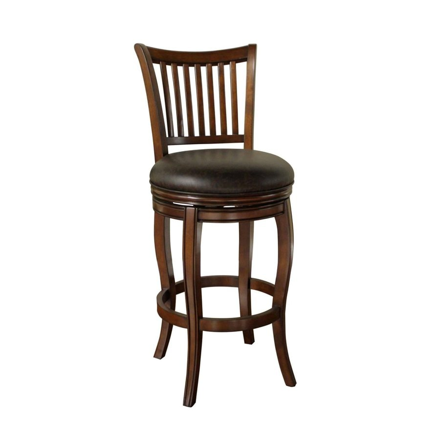 American Heritage Billiards Manisa Suede 34-in Bar Stool