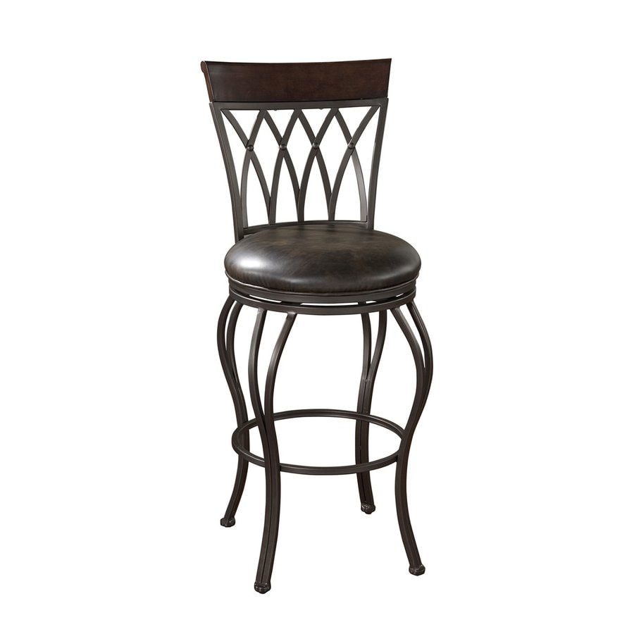 American Heritage Billiards Pisa Pepper 34-in Bar Stool