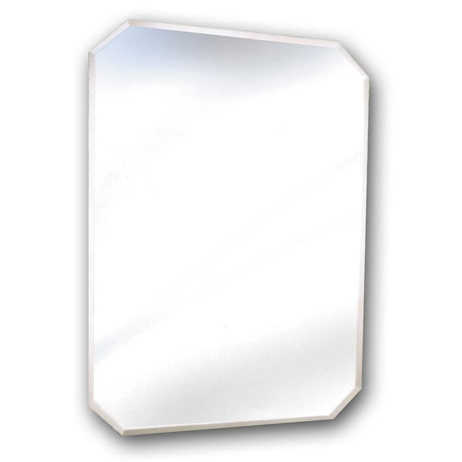 Shop American Pride 24 In Mirrored Rectangular Bathroom Mirror At