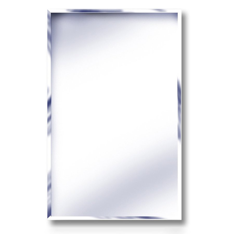 American Pride 16.19 In X 22.25 In Rectangle Recessed Mirrored Plastic Medicine  Cabinet