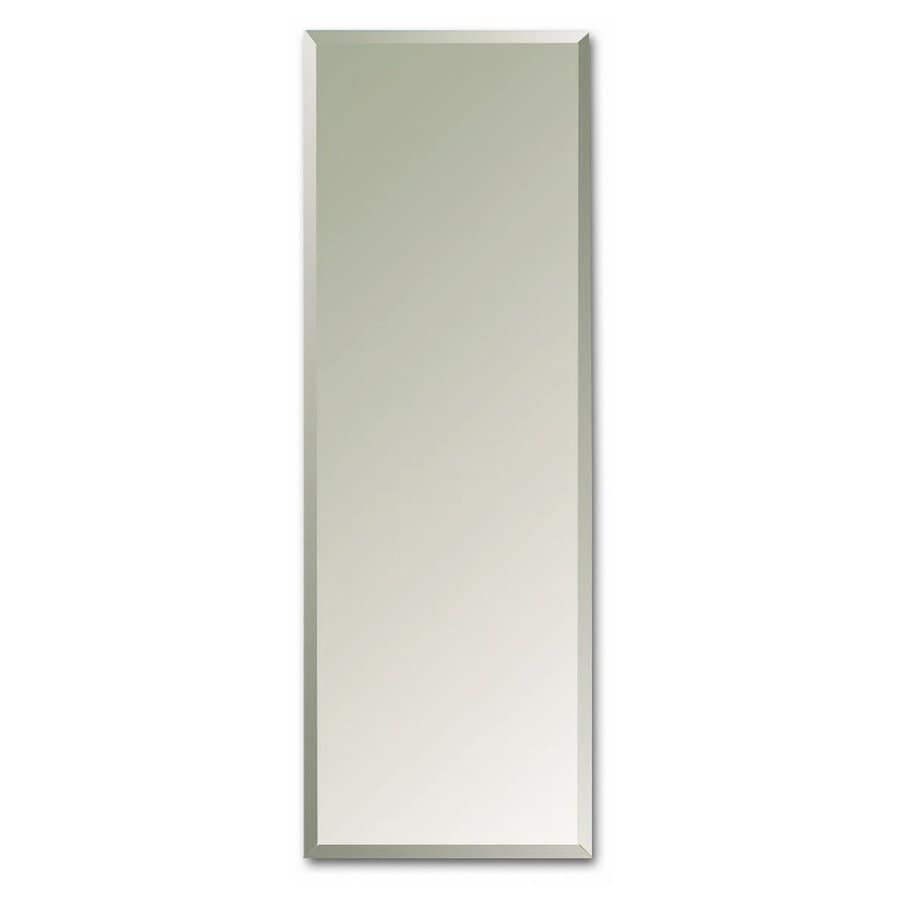 Awesome American Pride 12 In X 36 In Rectangle Recessed Mirrored Plastic Medicine  Cabinet
