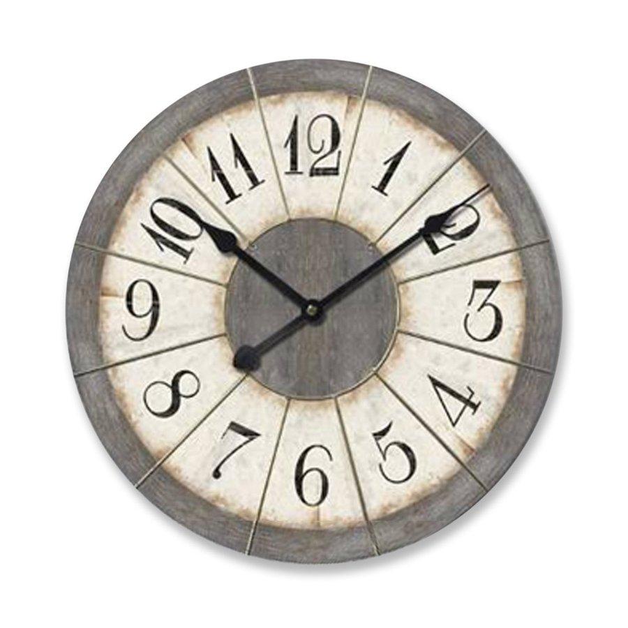 Ashton Sutton Analog Round Indoor Wall Clock