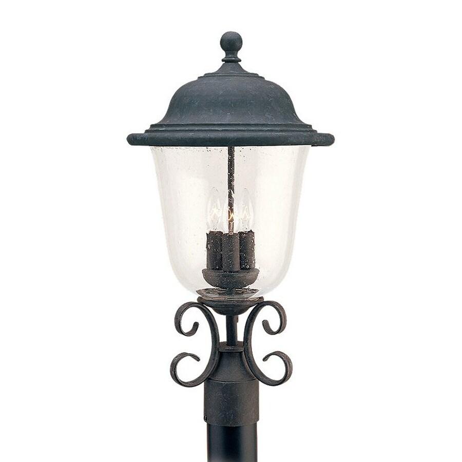 Sea Gull Lighting Trafalgar 22.75-in H Oxidized Bronze Post Light