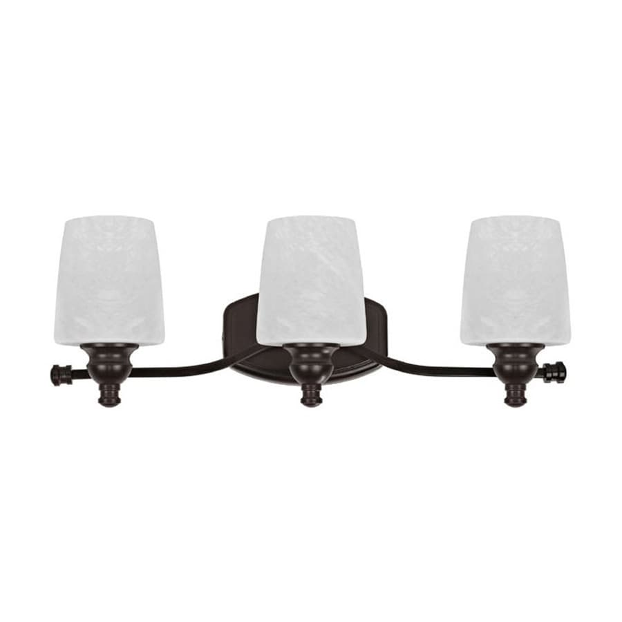 Chloe Lighting 3-Light Oil Rubbed Bronze Cylinder Vanity Light