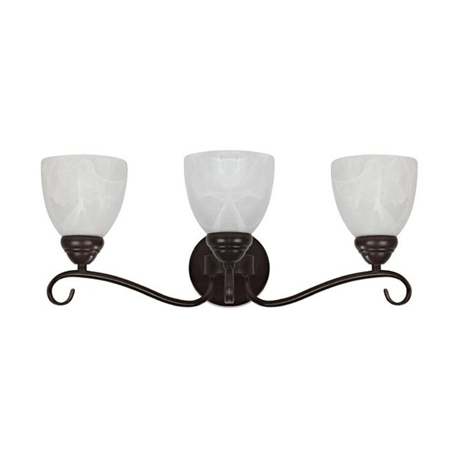 Chloe Lighting Harmonic Symphony 3-Light Oil Rubbed Bronze Bell Vanity Light