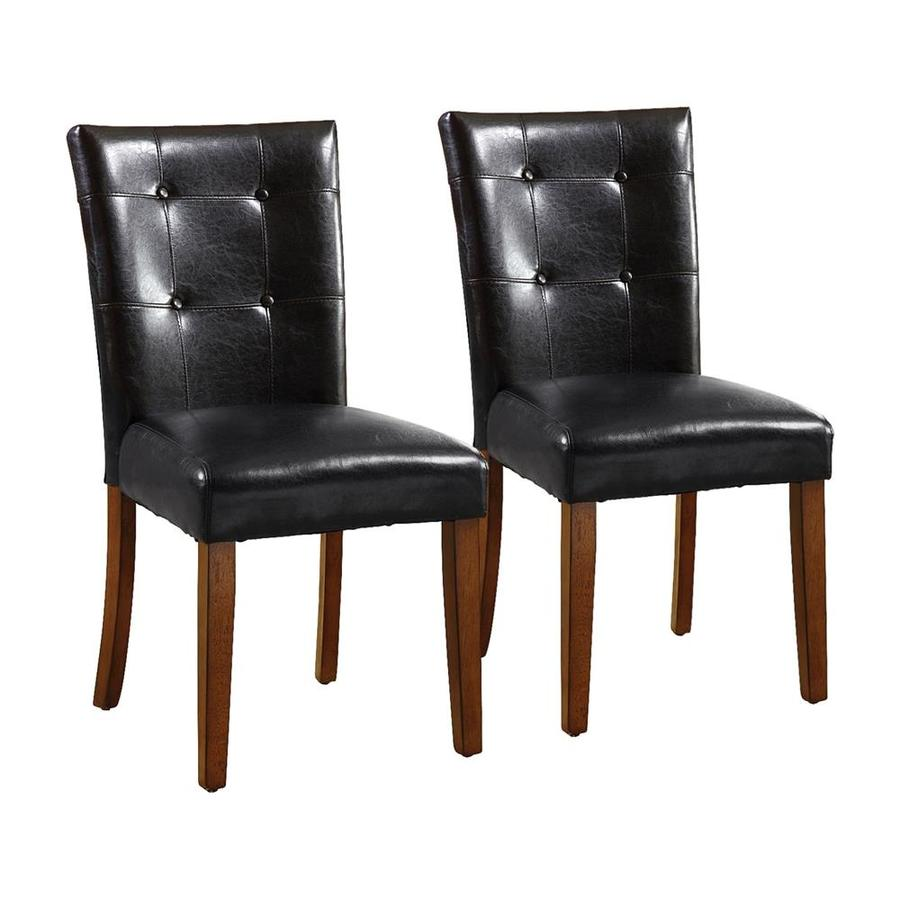 Furniture of America Set of 2 Little Rock Side Chairs