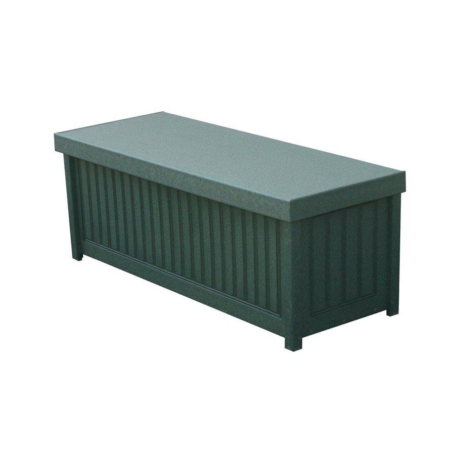 Eagle One Brisbane 48-in L x 19-in W 54-Gallon Green HDPE Deck Box