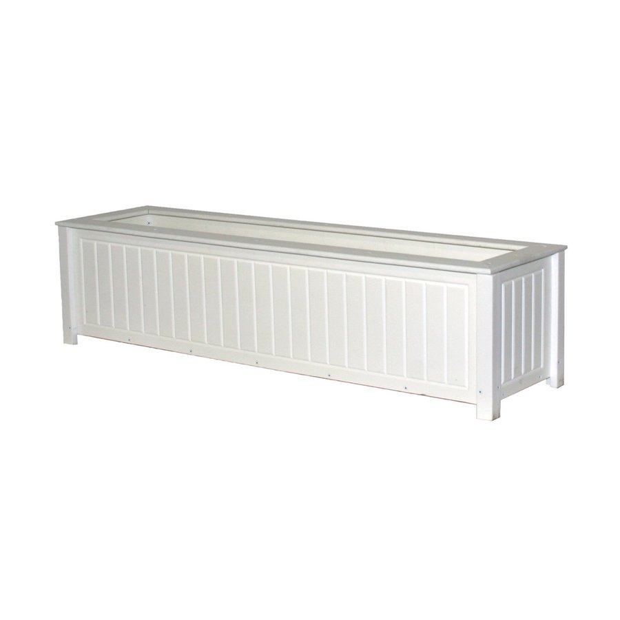 Shop Eagle One 48 In X 12 In White Plastic North Hampton