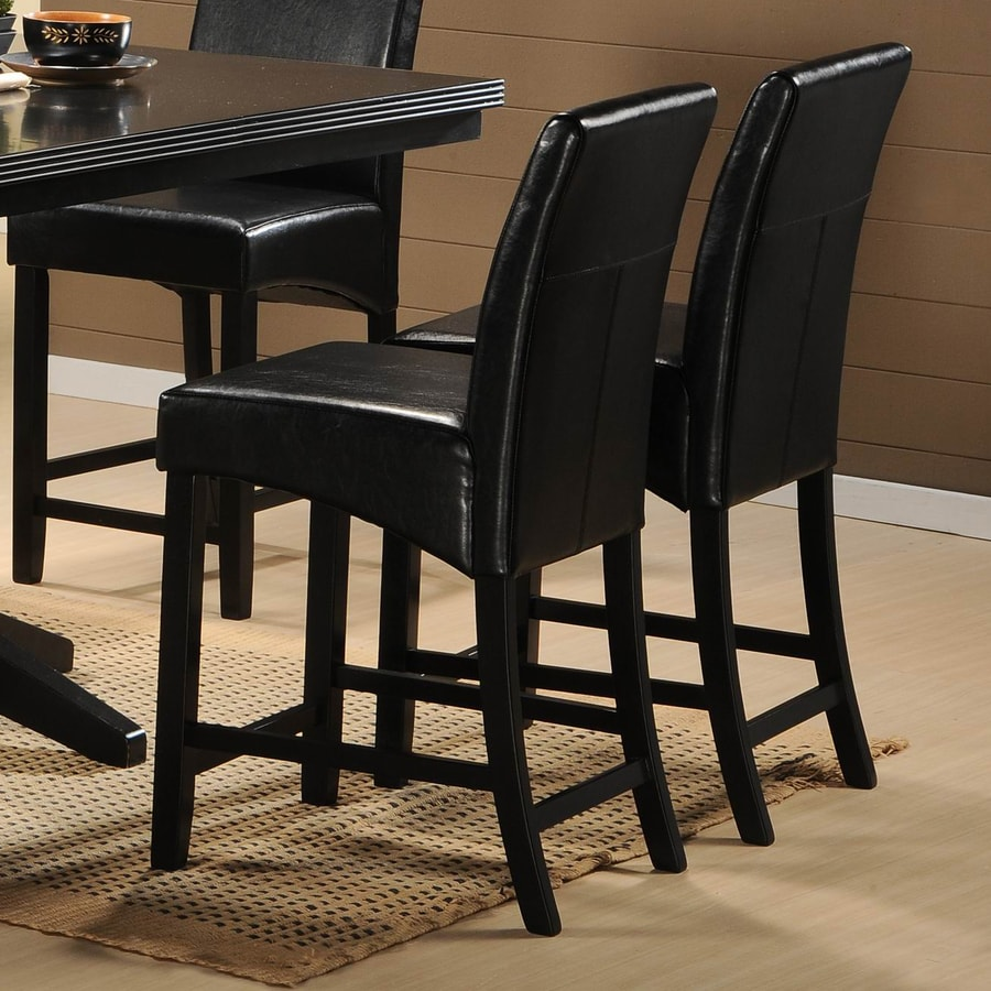 Homelegance Papario Black Counter Stool