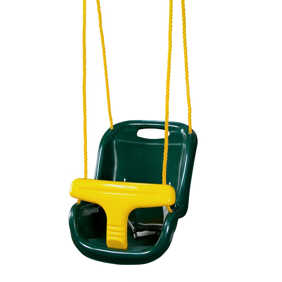 Gorilla Playsets Green Infant Swing