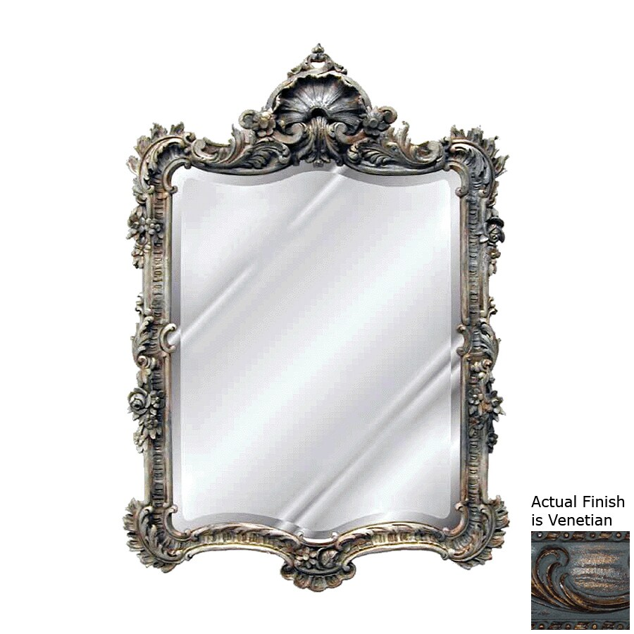 Hickory Manor House Arquette Venetian Beveled Wall Mirror