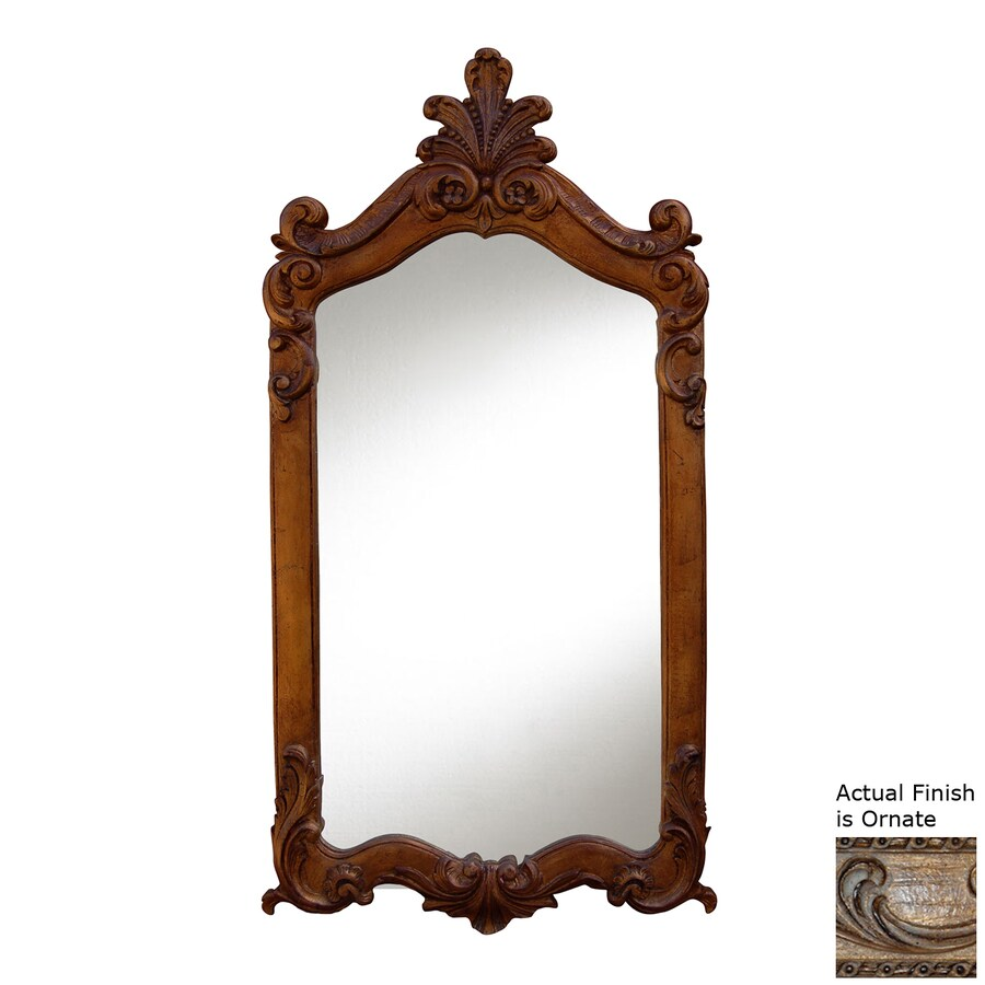 Hickory Manor House Royal Ornate Polished Wall Mirror