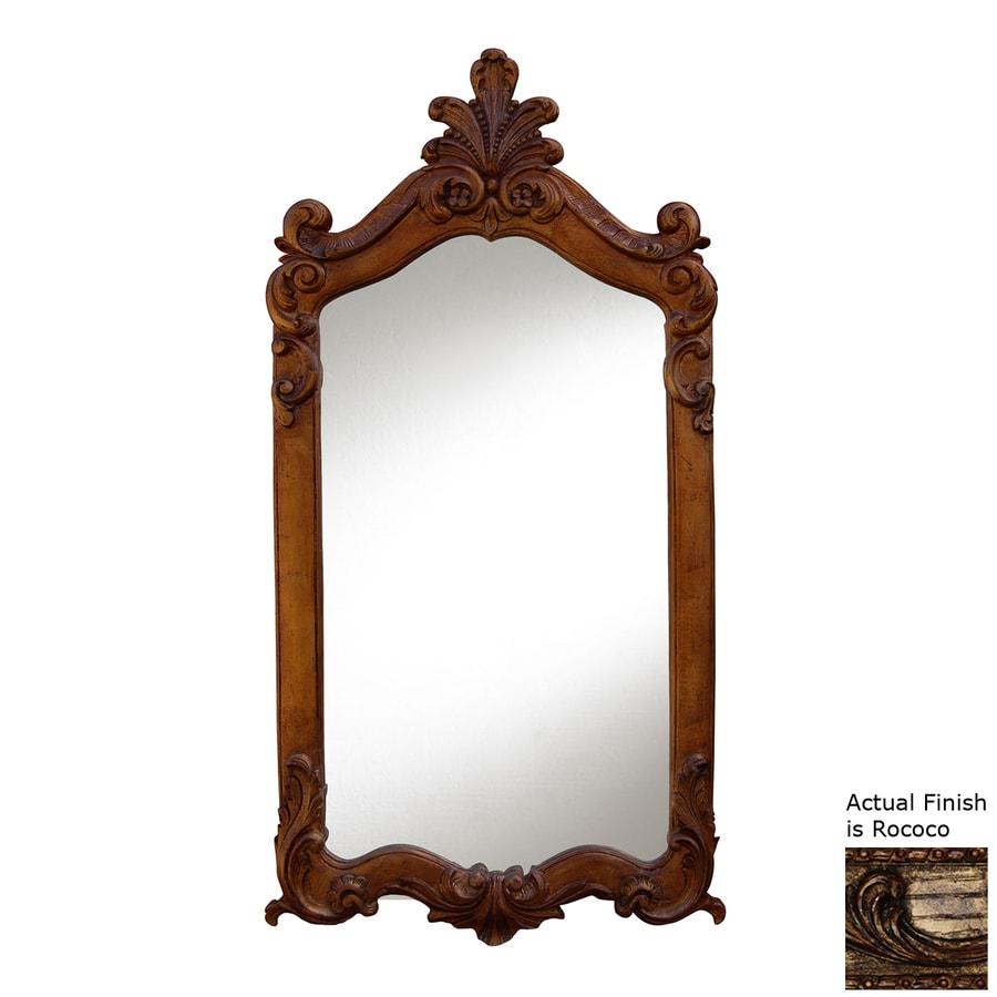 Hickory Manor House Royal Rococo Polished Wall Mirror
