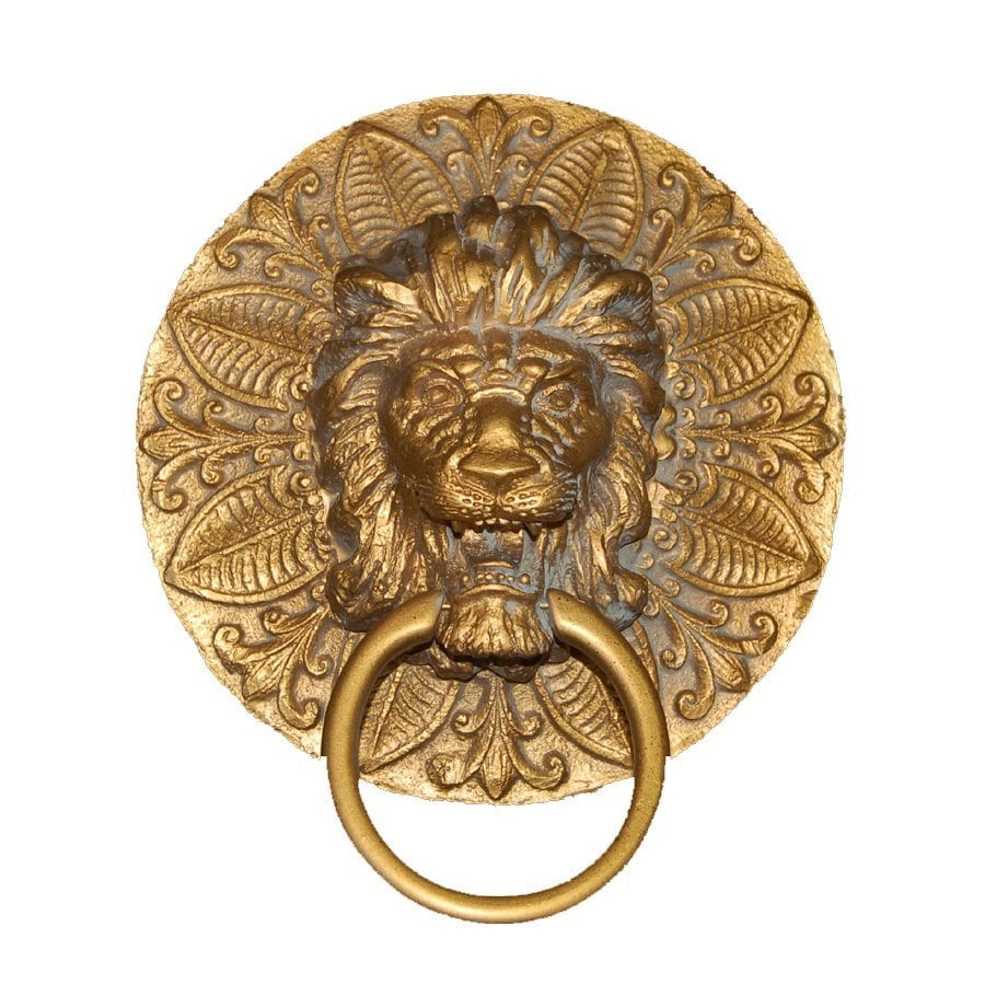 Hickory Manor House Antique Gold Wall Mount Towel Ring