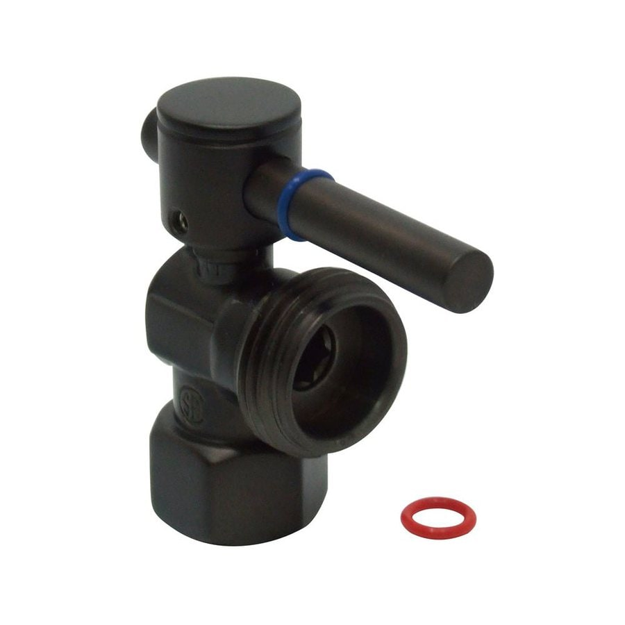 Elements of Design Oil-Rubbed Bronze Quarter Turn Angle Valve