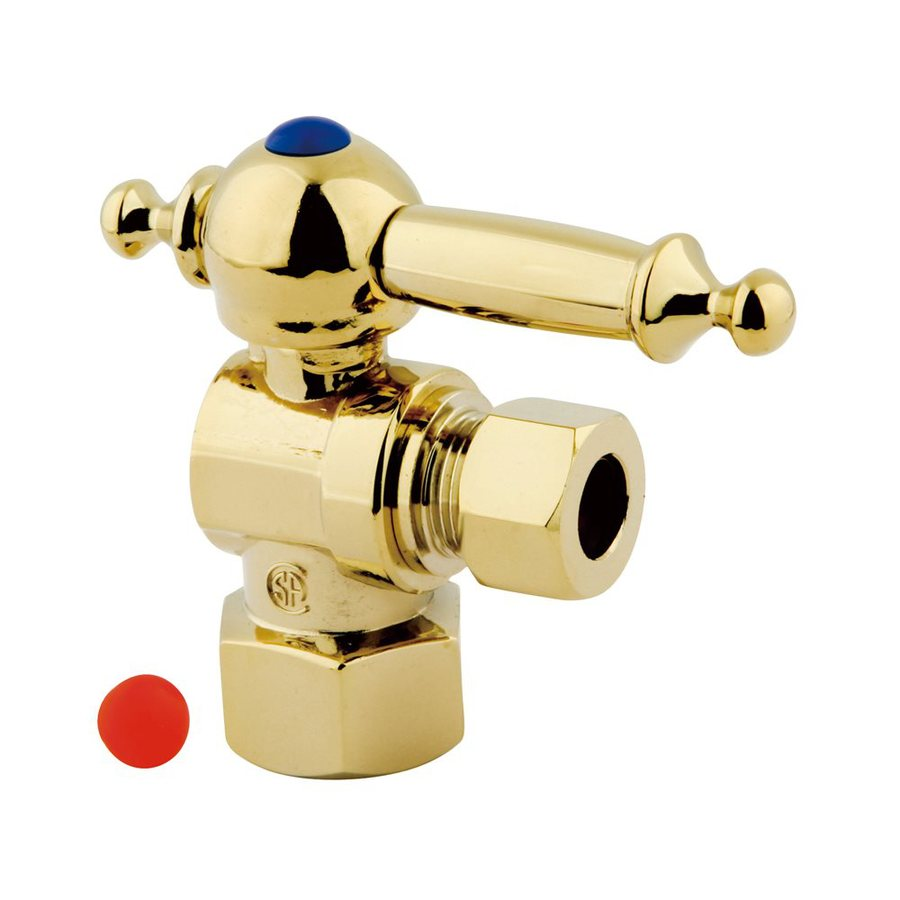 Elements of Design Brass Angle Valve