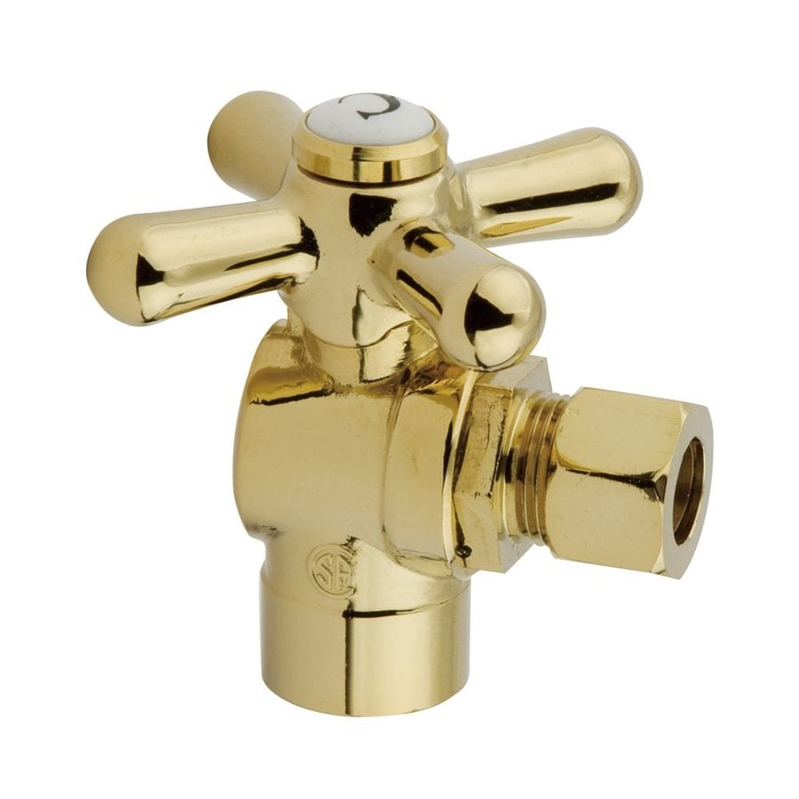 Elements of Design Brass Sweat Angle Valve