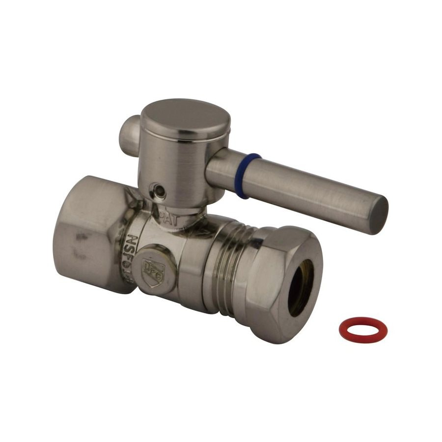 Elements of Design Brass Straight Valve