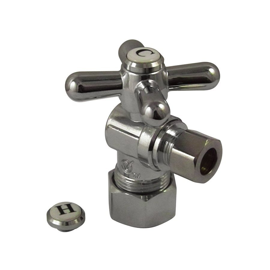 Elements of Design Chrome Quarter Turn Angle Valve