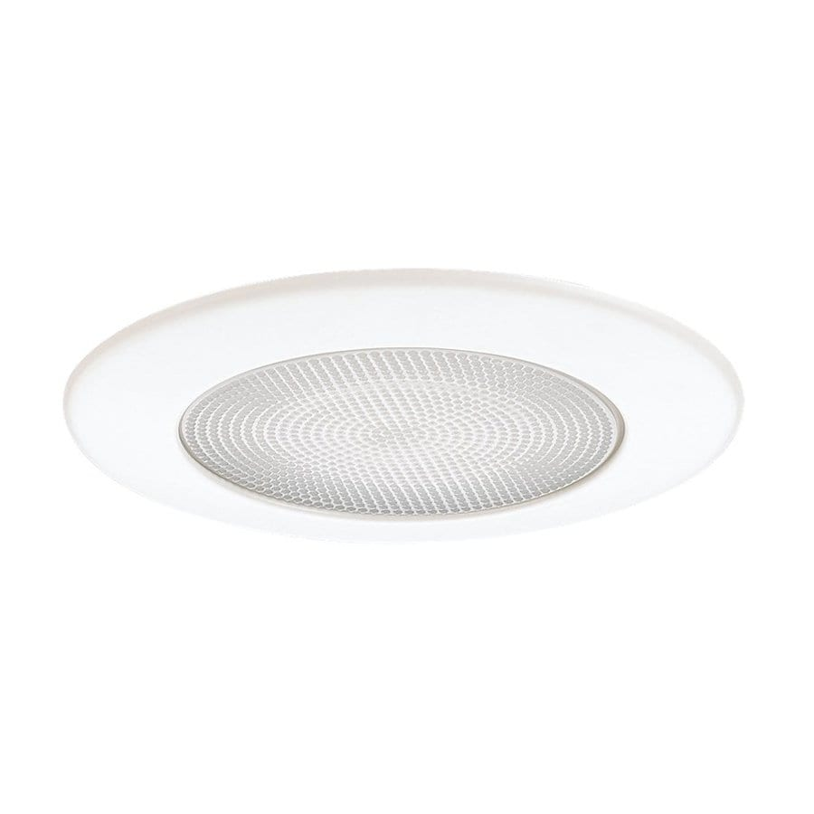 Sea Gull Lighting White Shower Recessed Light Trim (Fits Housing Diameter: 5-in)