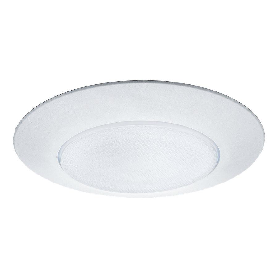 Shop Sea Gull Lighting White Shower Recessed Light Trim