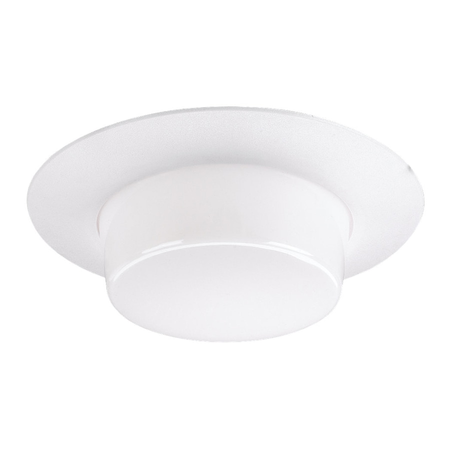 Sea Gull Lighting White Shower Recessed Light Trim (Fits Housing Diameter: 6-in)