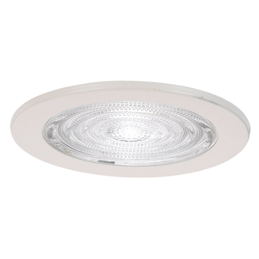 Sea Gull Lighting White Shower Recessed Light Trim (Fits Housing Diameter: 4-in)