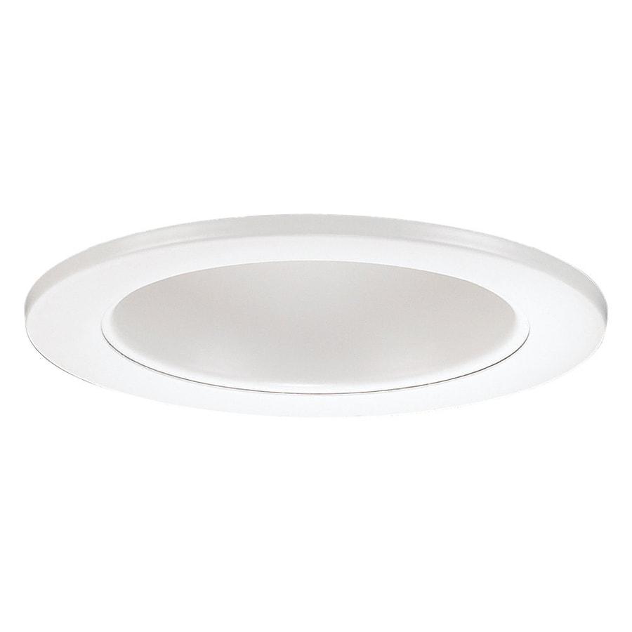 Sea Gull Lighting White Multiplier Recessed Light Trim (Fits Housing Diameter: 4-in)