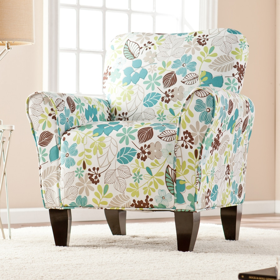 Boston Loft Furnishings Pearland Floral Accent Chair