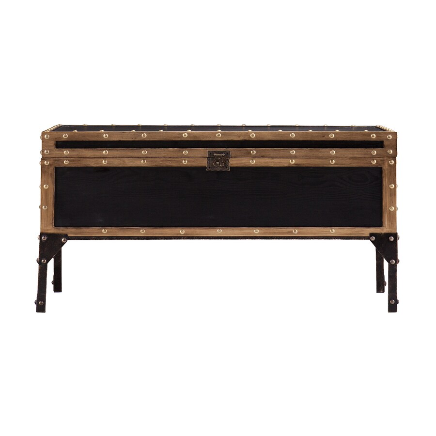 Boston Loft Furnishings Davon Antique Black Ash Coffee Table